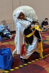 Sesshomaru from Inu Yasha! It's been a while since I've seen any Inu Yasha cosplay.