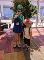 Luigi and Toad! (Toad looks a little confused, hah.)