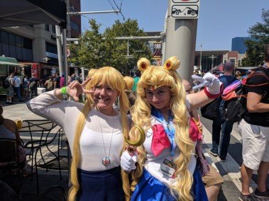 I found an Usagi out by the food trucks!