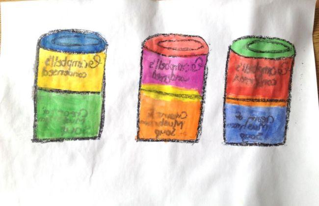 warhol pop art lesson