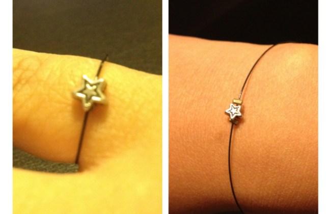 diy simple ring bracelet