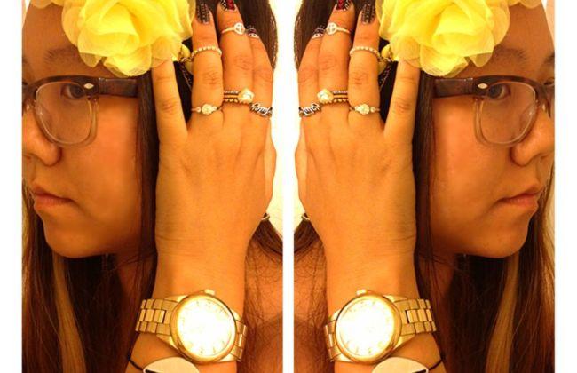arm finger jewels