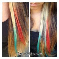 Kool Aid Hair Color | The Crafty Ninja