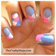 fishtail braid nails crafty
