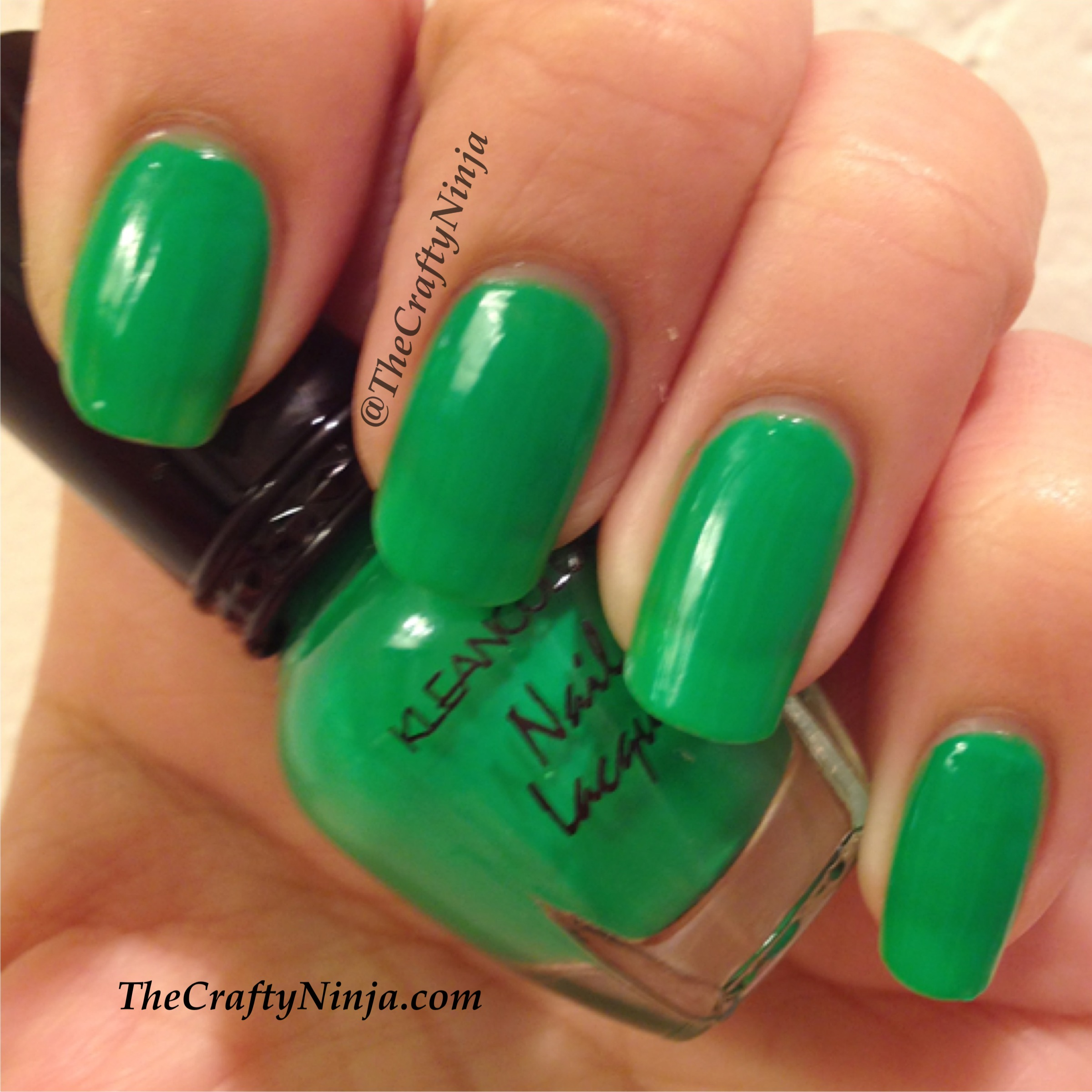OPI Neon Revolution Minis - Of Life and Lacquer |Neon Blue Nails