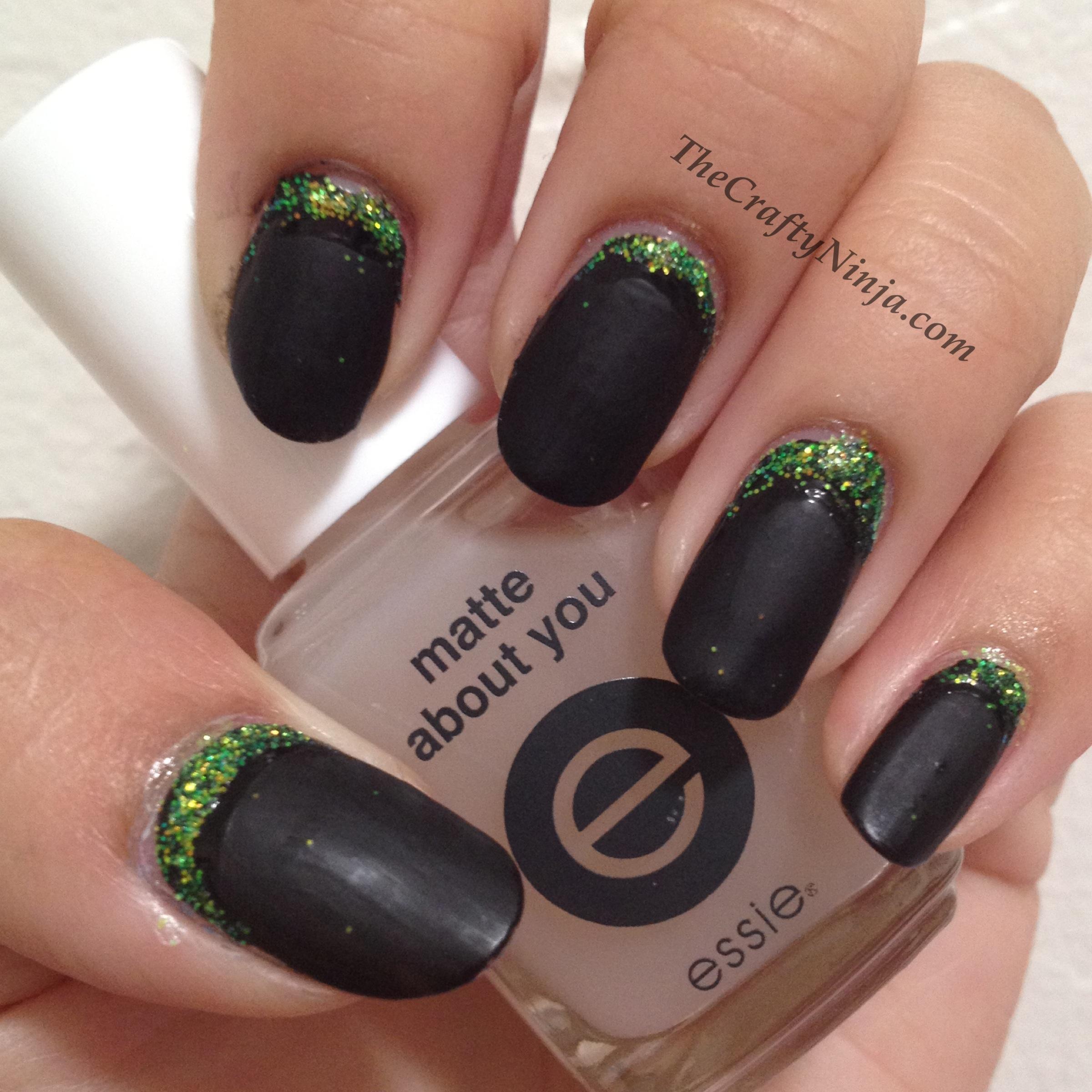 Ruffian Nails Tutorial | The Crafty Ninja