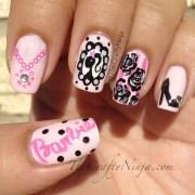 cameo barbie nails crafty