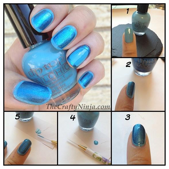 diy border nails