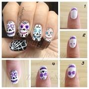 halloween nail decals walgreens