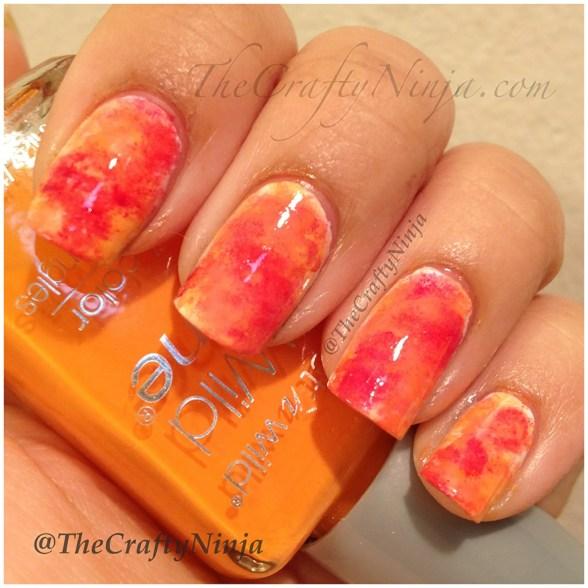 fall sponge nails