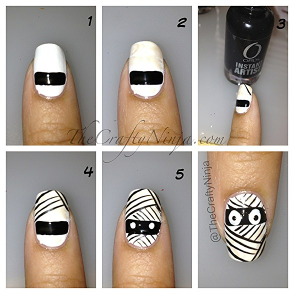 mummy nail diy