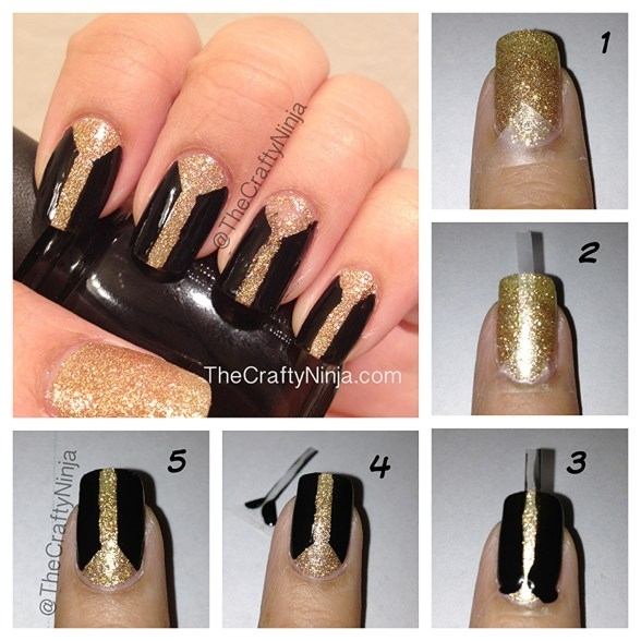 nail tape tutorials