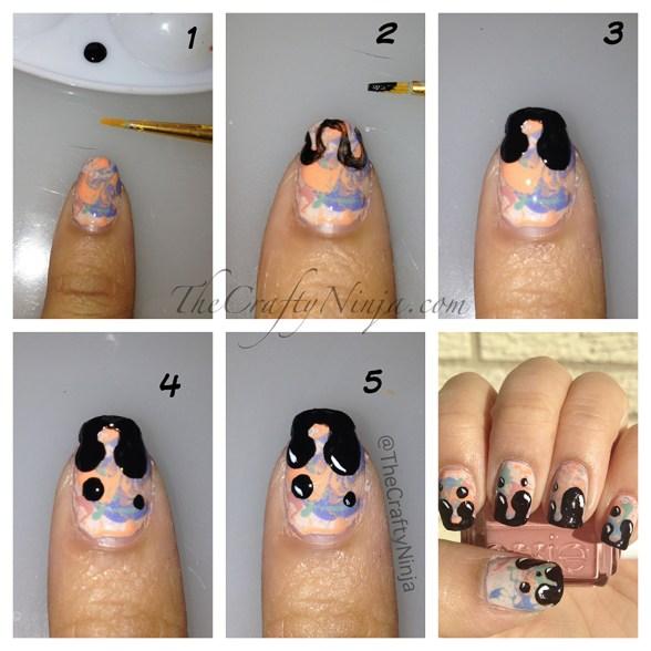 drip nails diy