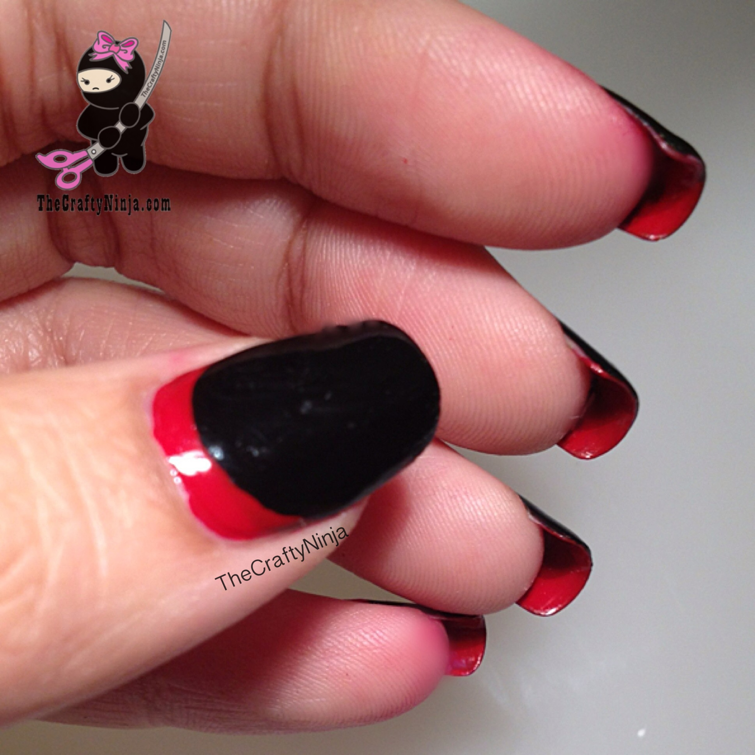 Christian Louboutin Nails | The Crafty Ninja