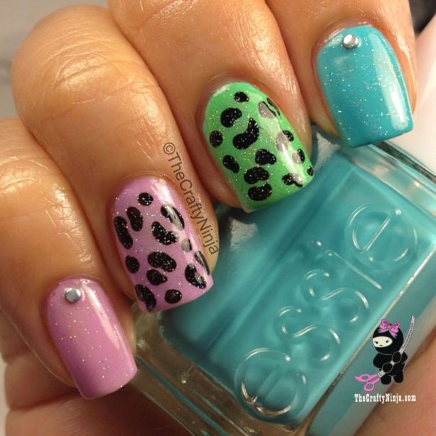 cheetah-nails