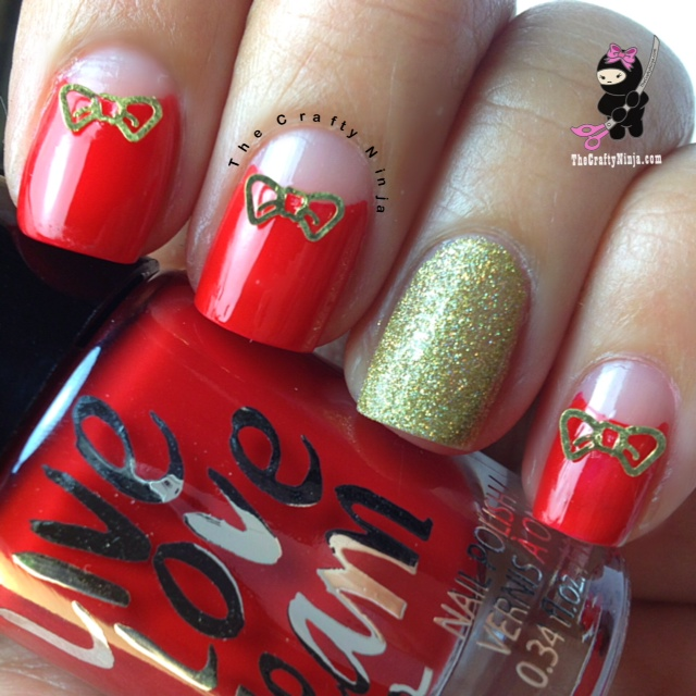 bow metal nails