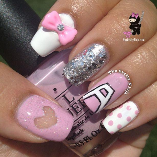 Apink Naeun Nails