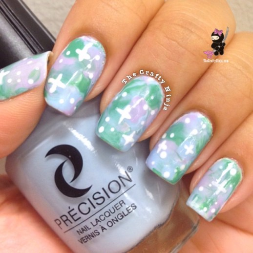 Pastel Galaxy Nails