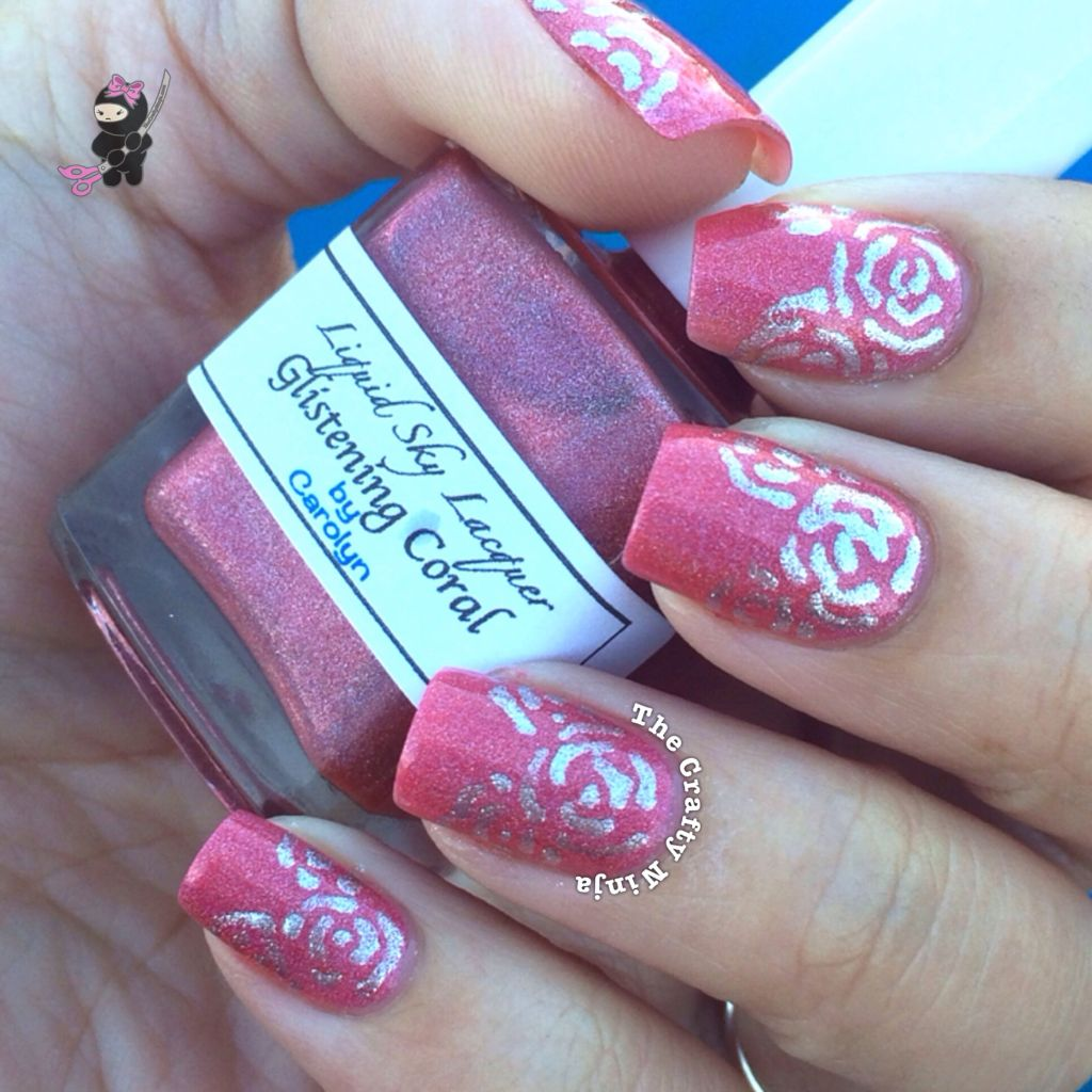 Rose Nail Art Tutorial: Abstract Rose Nails
