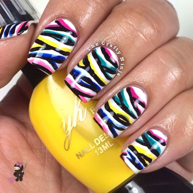 Zebra Nail Tutorial