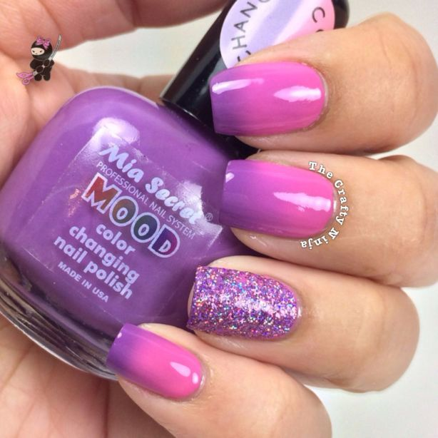 Color Changing Purple Pink