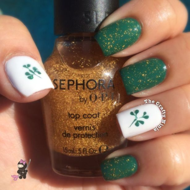 St Patty Nails