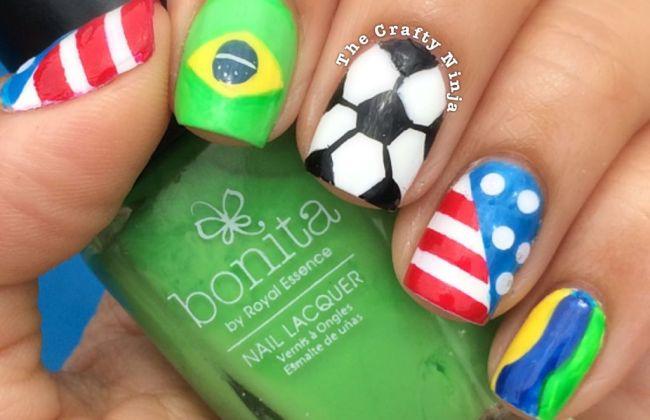 World Cup Soccer Nails The Crafty Ninja