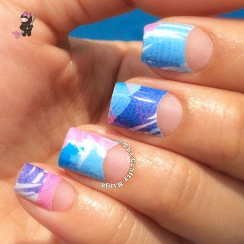 Winstonia Pastel Nail Wrap