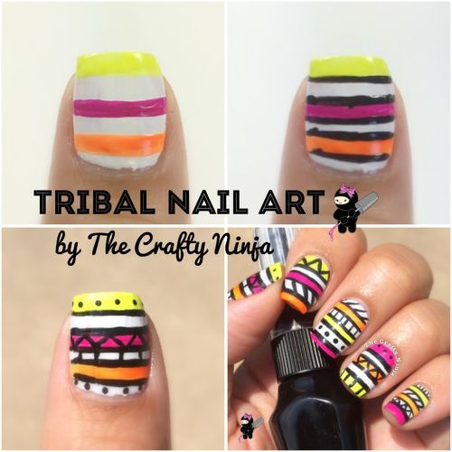 Diy Tribal Nails