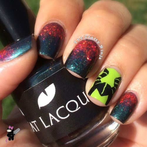 Maleficent Nail Tutorial
