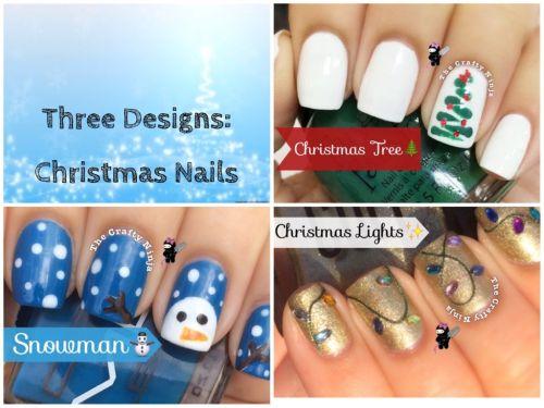 Youtube Three Christmas Nails