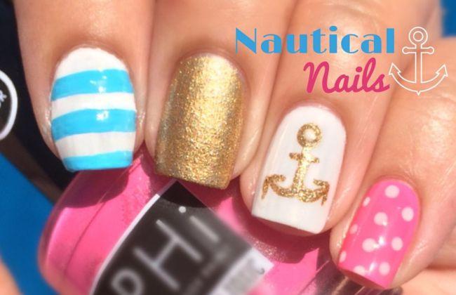 Youtube Nautical Nail Art