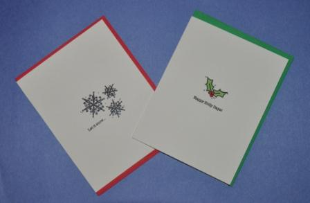 Photo of greeting cards