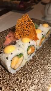 Japanese sushi stuffed with exotic veggies at Umame Mumbai