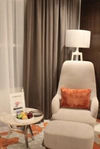 Bedroom, Radisson Blu Ajman, UAE.