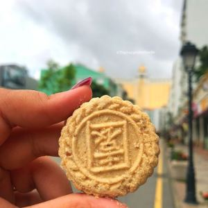 Macao's famous Almond Cookies.