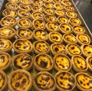 Macao's famous Egg Tarts.