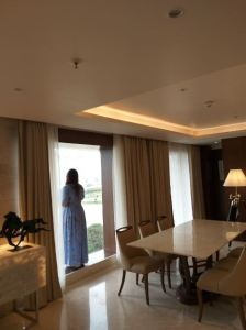 Presidential Suite is perfect especially for business travellers.