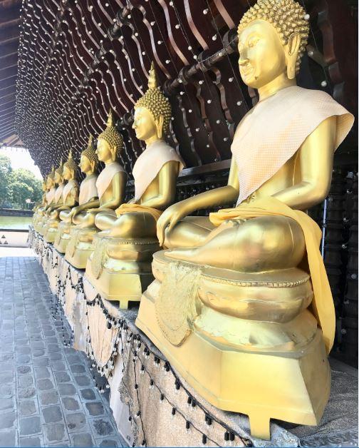 Gangaramaya Temple, Colombo, Sri Lanka.