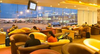 Serendib Lounge, Sri Lankan Airlines.