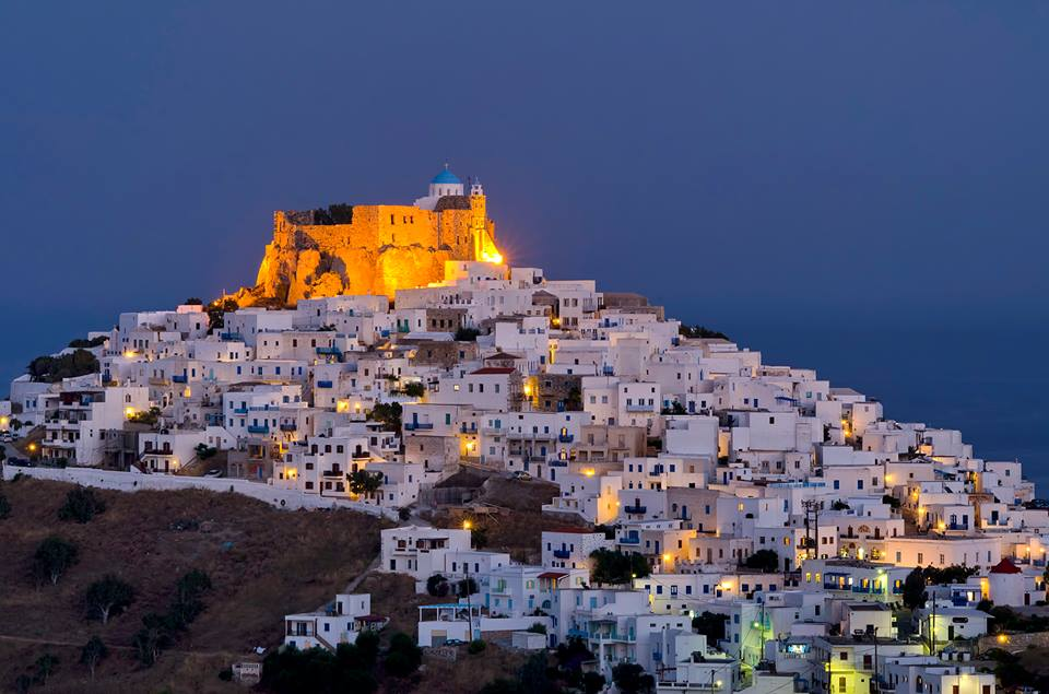 Astypalea, Dodecanese, Greece. Greek islands.