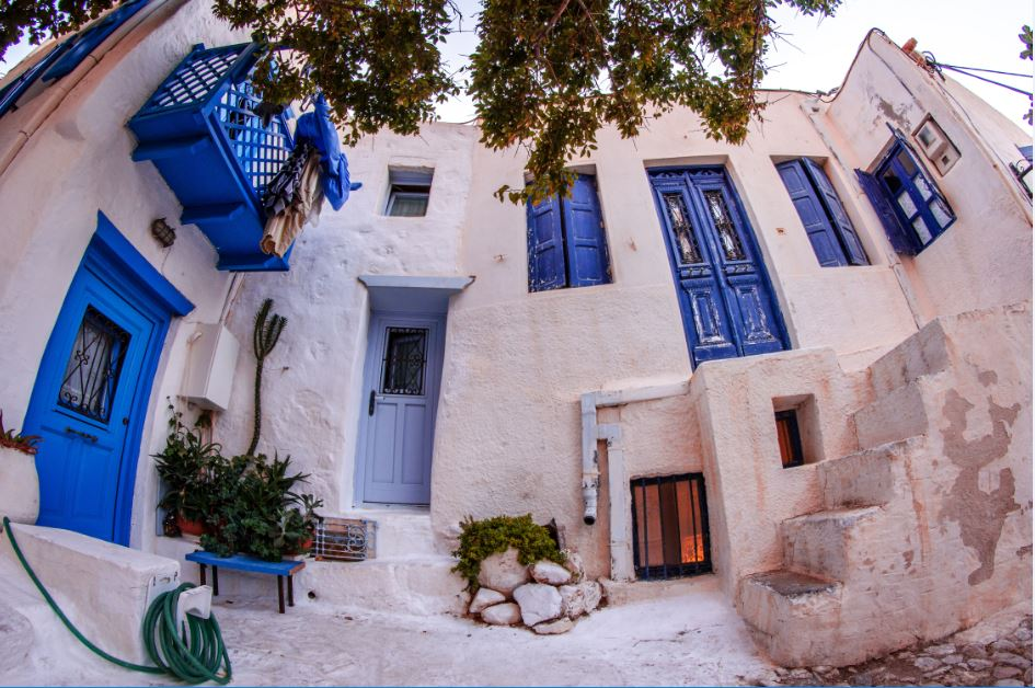 Greek Houses in Astypalea.