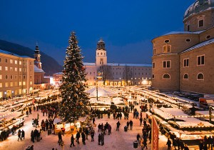 Salzburg, Austria Christmas Markets.