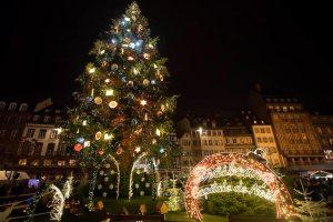 Strasbourg Christmas Market, France.