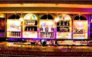 Well stocked Bar, Playboy Lounge Nashik.