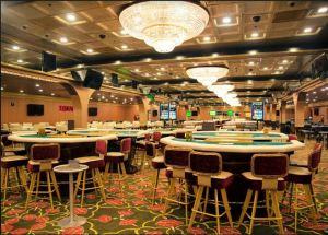 Gaming at Big Daddy Casino, Goa.
