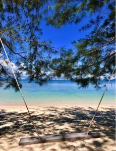 Sepanggar Island, Sabah, Malaysia.