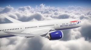 British Airways Boeing 787-9.