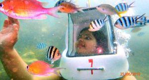 Underwater Sea Walk, Sepanggar, Sabah.