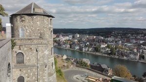 Namur, the capital of Wallonia, Belgium.